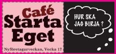 Cafe Starta Eget, 23 april  i Skellefteå