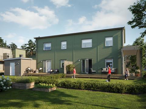 Fler kloka hus säljs i Södra Hemlingby, Gävle