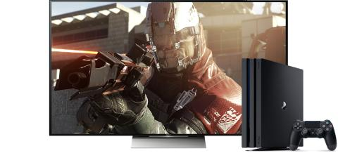 Få den ultimative spiloplevelse ved at kombinere Sony 4K HDR-tv og PlayStation®4 Pro