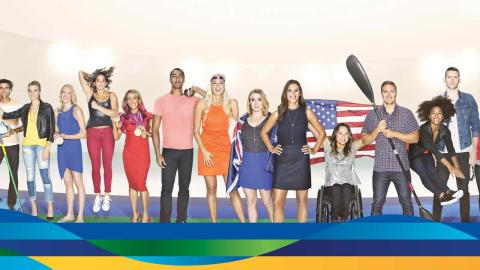 Galleria Team Visa Rio 2016