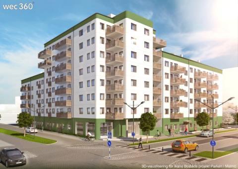 3D-visualiseringsbyrån wec360° AB skriver avtal med Ikano Bostad