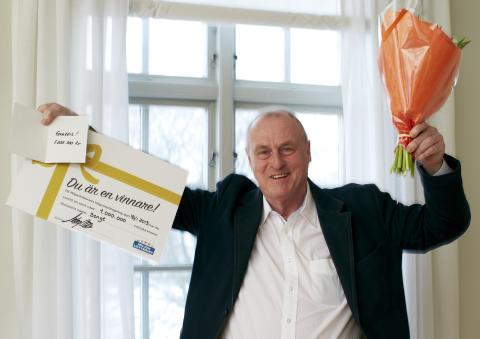 Bengt från Norrköping vann 1 miljon på lott från Miljonlotteriet!