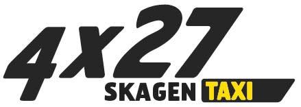 Logo Taxi 4x27 - Skagen meget lille