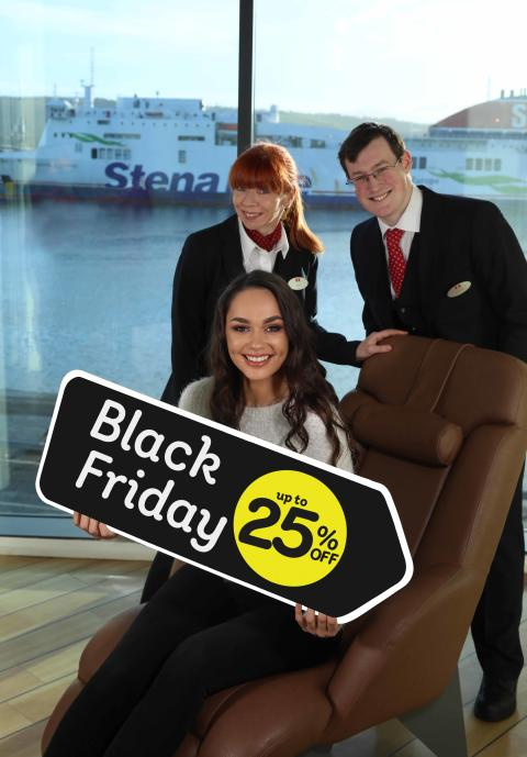 Save BIG with Stena Line's Black Friday Sale