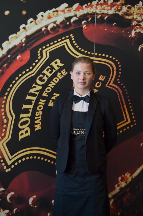 Semifinalist Sofia Castensson från Gaston