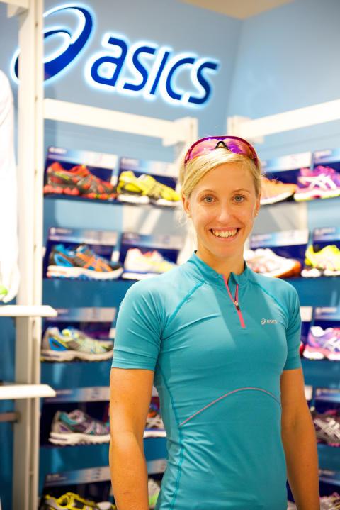 Träffa triathleten Lisa Nordén i ASICS Flagship Store