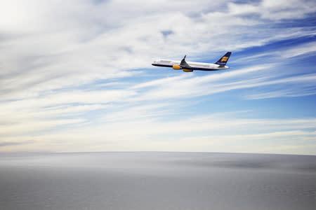 Icelandair in the air
