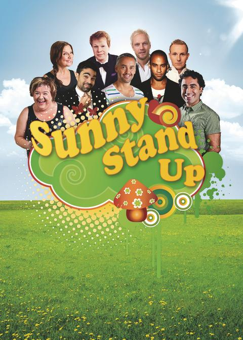 Pressinbjudan - Sunny Stand Up på Stenungsbaden
