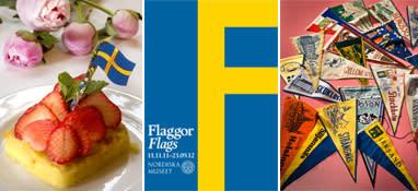 Flaggor i fokus på Nordiska museet