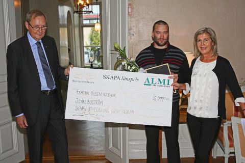 Årets vinnare av SKAPAs stipendium samt Årets Nybyggare Västernorrland 2014