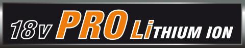 AEG 18 Volt Pro Lithium-Ion logo