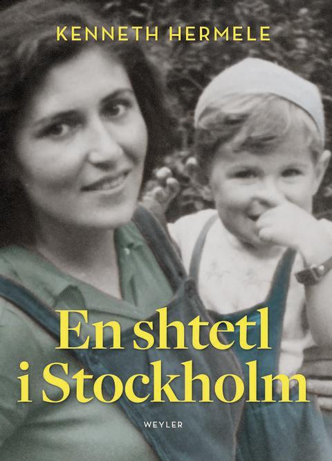 En shtetl i Stockholm, omslagsbild