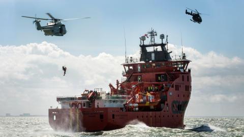 ESVAGT takes part in anti-terror exercise