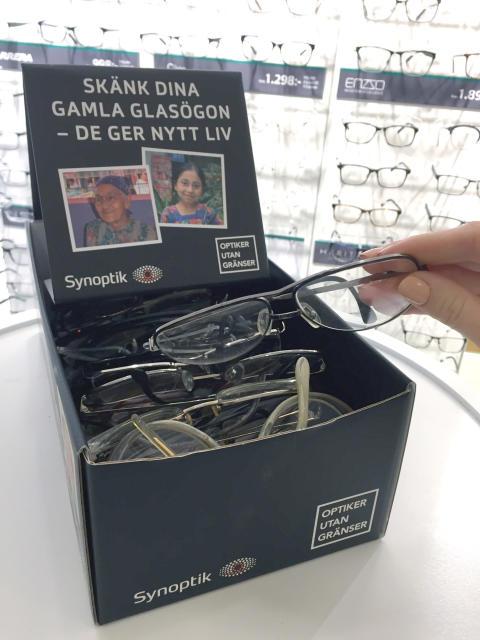 Glasögoninsamling till Optiker Utan gränsers biståndsresa