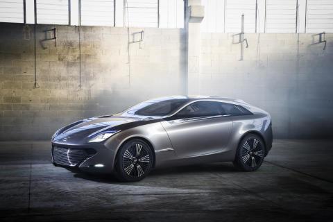 Elteknologisk konceptbil från Hyundai