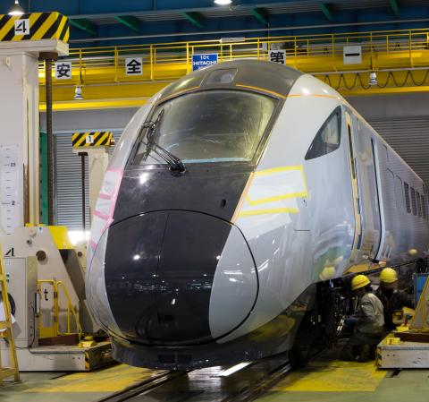 Work  begins on new futuristic train fleet for TransPennine Express