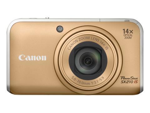 Power Shot SX210 Gold