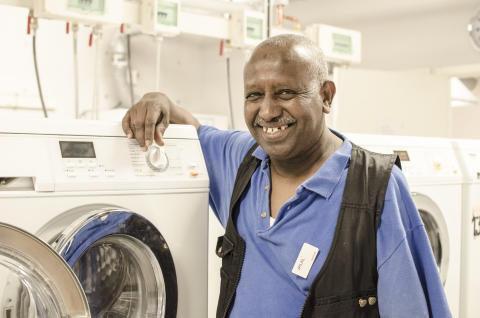 Samhall blir medlem i Tvätteriförbundet