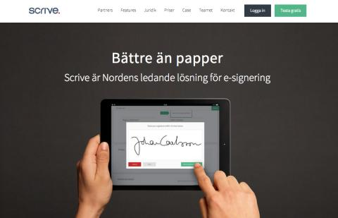 Scrive lanserar ny hemsida med nytt utbildningsmaterial gällande juridiken vid e-signering