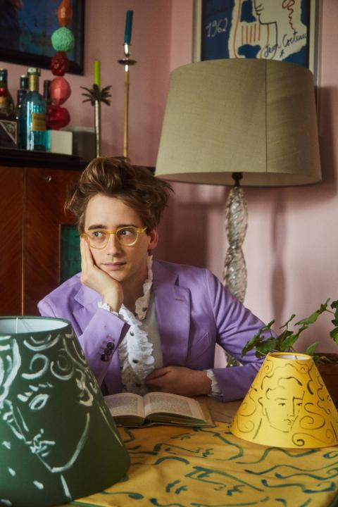 Portrait picture Luke Edward Hall