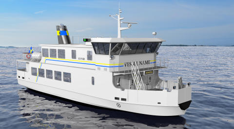 Illustration på fartyget.