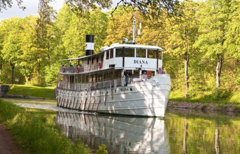 Pressinbjudan: Visning av nyrenoverade Göta Kanalbåten M/S Diana