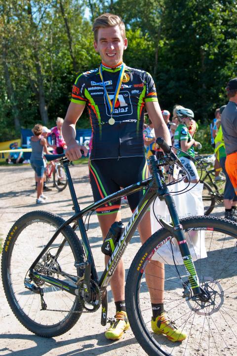 Magnus Darvell - svenska mästare i MTB-marathon.