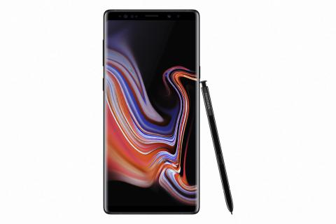 Samsung Galaxy Note9_front_pen_black