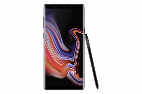 Samsung Galaxy Note9_front_pen_black