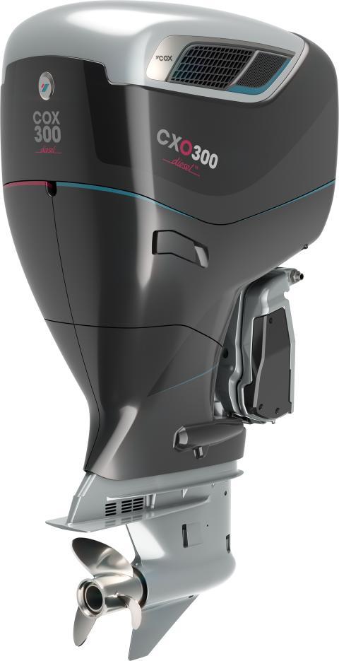 High res Image - Cox Powertrain - CXO300 Black