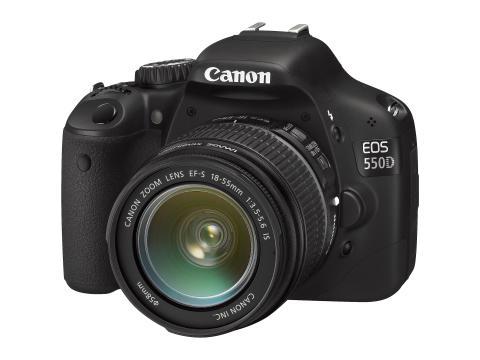 EOS 550D – banbrytande ny systemkamera för konsumenter