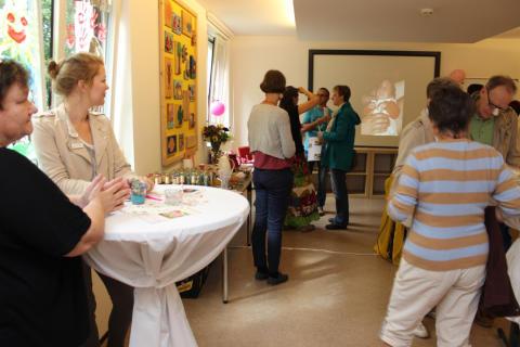 Seminarraum während des Tages der offenen Tür 2015