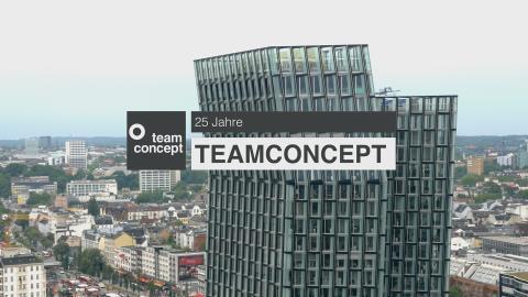 25 Jahre teamconcept: Partnerschaftliches Bauen als Erfolgsrezept