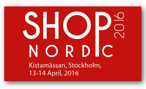 Q-channel deltar på mässan Shop Nordic 2016 i Kista den 13-14 april. Monter D:09