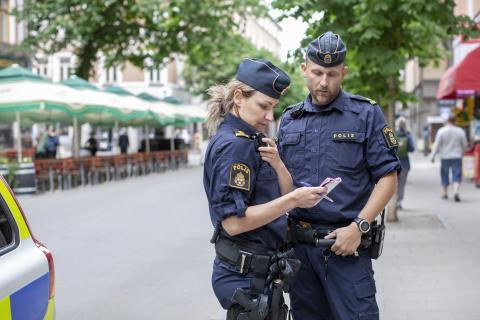 Rekordmånga akuta polisärenden i Jämtland under juli