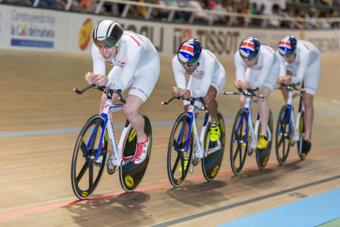 SportsAid supported Matthew Gibson makes track cycling world championship team