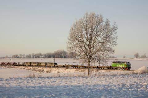 Green Cargo vinter