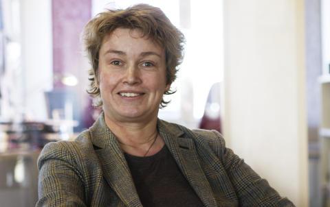 Helene Oscarsson, koordinator på Vreta Kluster.