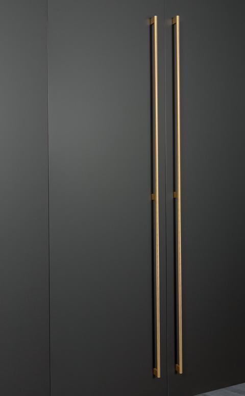 Graf Mini - long handles mässing