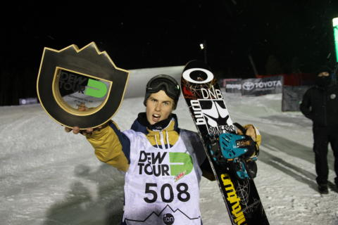 Ståle Sandbech tredjeplass Dew Tour 2012