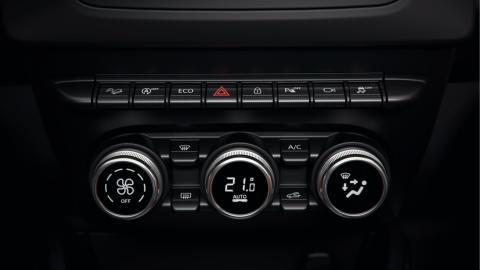 Nya Dacia Duster interiör