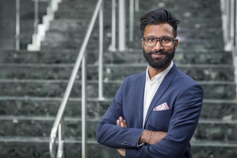 Niklas Eklöf är ny digital strateg på eHälsomyndigheten