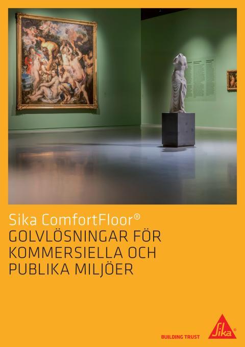 Sika ComfortFloor golvlösningar