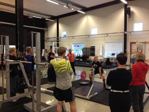 Naprapatlandslaget Malmö på vidareutbildning i korrektiv funktionell träning