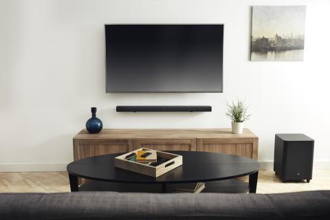 JBL præsenterer nye og kraftige soundbar-modeller der passer til hele hjemmet