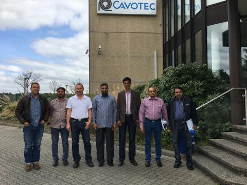 ​Cavotec welcomes Islamabad Airport delegation