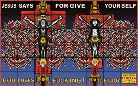Gilbert & George, WAS JESUS HETEROSEXUAL, 2005