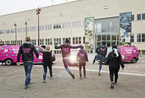 Tekniska museets Robotzoo gästar Göteborgs centralstation