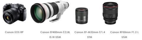 Canon tar emot fyra prestigefyllda 2019 TIPA World Awards.