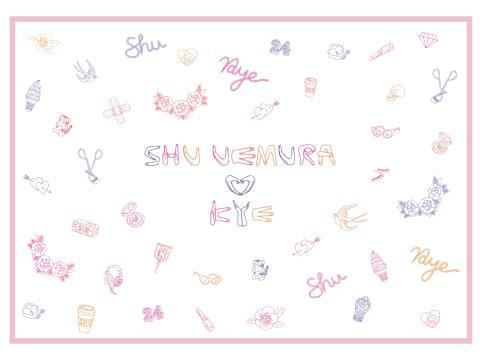 Shu Uemura x KYE press release